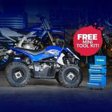 Yamaha Fun ATV YFZ50 Demo ONLY 1 RIDE