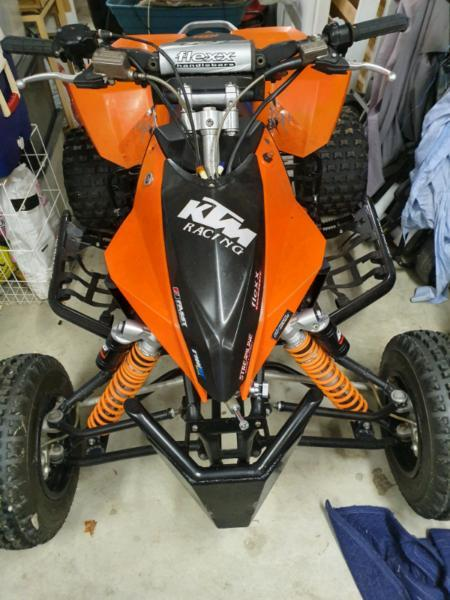 KTM 450SX quad