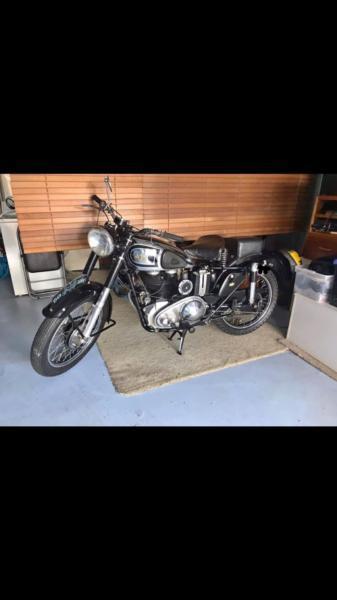 1949 AJS 49 18s