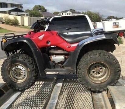 2006 Honda 4x4 350 quad