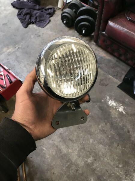 Chopper / bobber head light