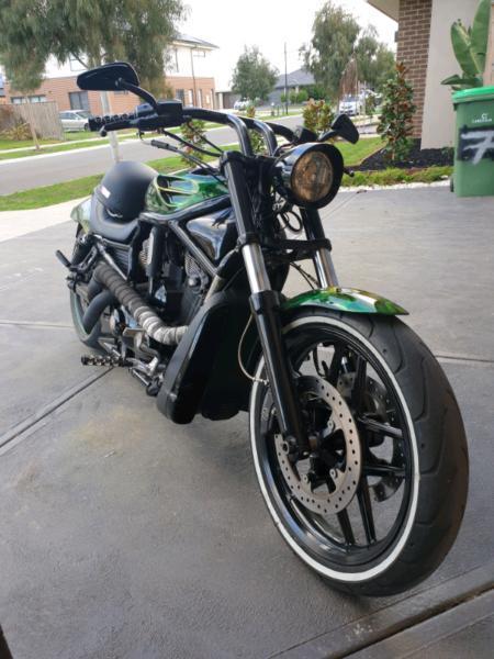 Harley nightrod vrod 1250cc swap monaro cv8 or ktm motard cheap