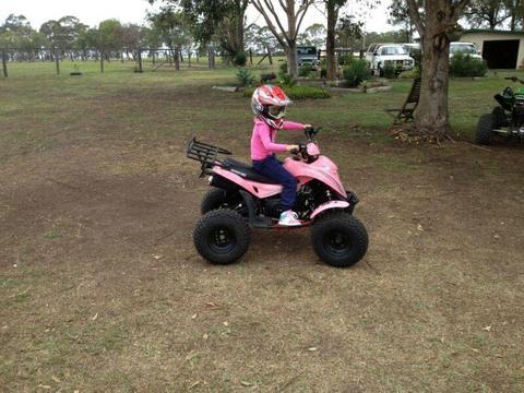 Pink Adventure 110 Quad