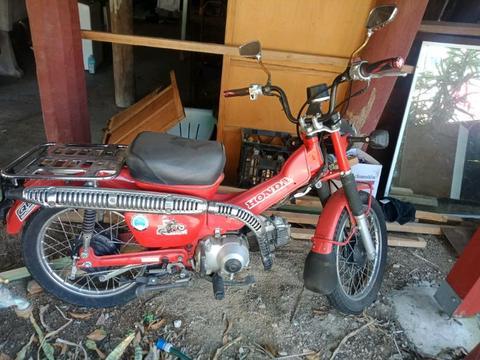 Honda Ct110 ex post bike
