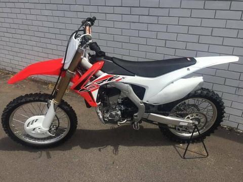 2017 Honda CRF 250 R. As New
