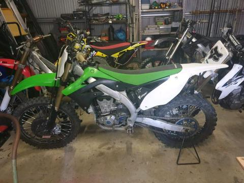 2013 KX 450F fuel injected