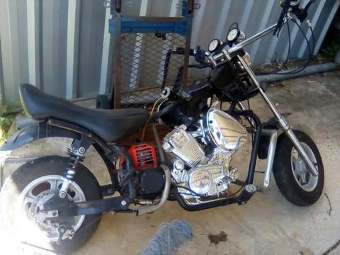 Bike kids Harley petrol project