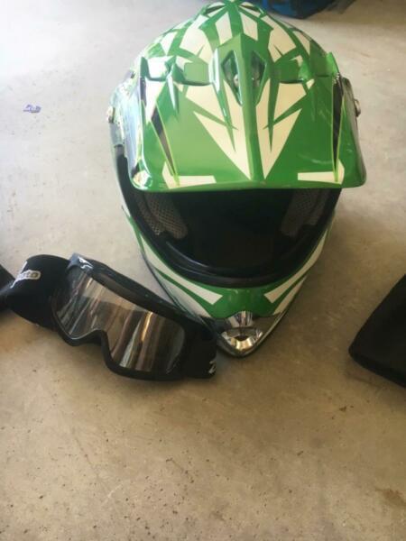 Motor bike helmets kids