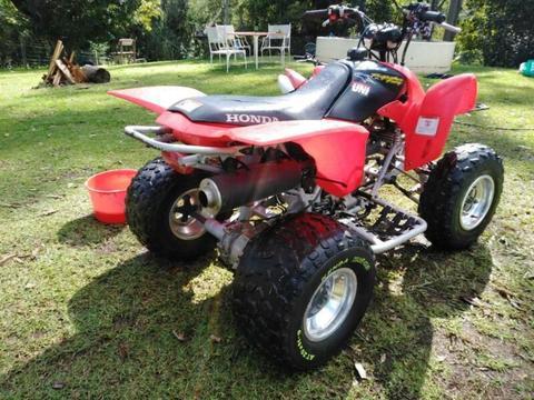 09 trx 250ex race quad