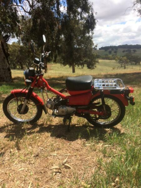 Motorbike post bike