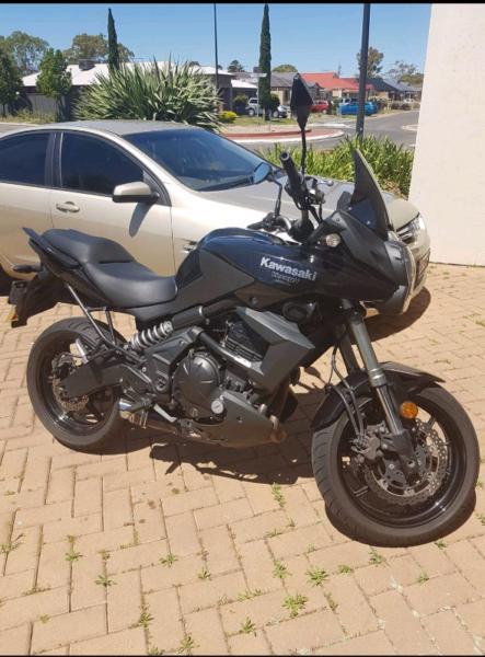 Kawasaki Verseys 650 2012 sell $5,050consider swap for trailbike