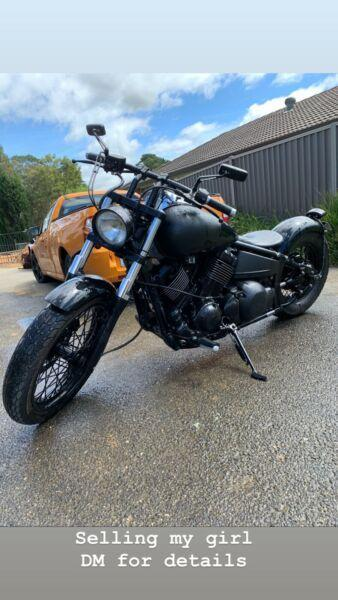 Yamaha xvs650
