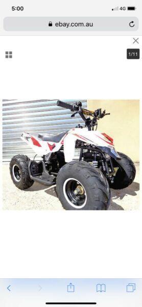Brand new mini heavy duty Quad ATV
