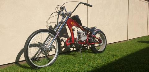 motorised chopper 80cc