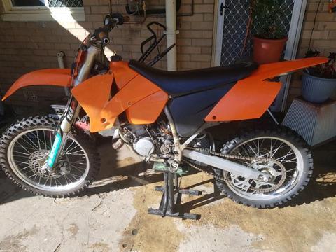 Project ktm125 2004 swap for 250cc quad