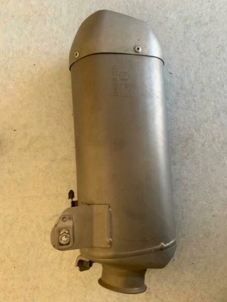 2015 yamaha r1 original titanium silencer