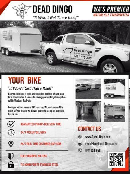 Motorcycle Transport Western Australia