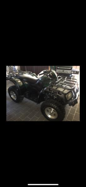 QUAD BIKE 500cc WITH TRAILER