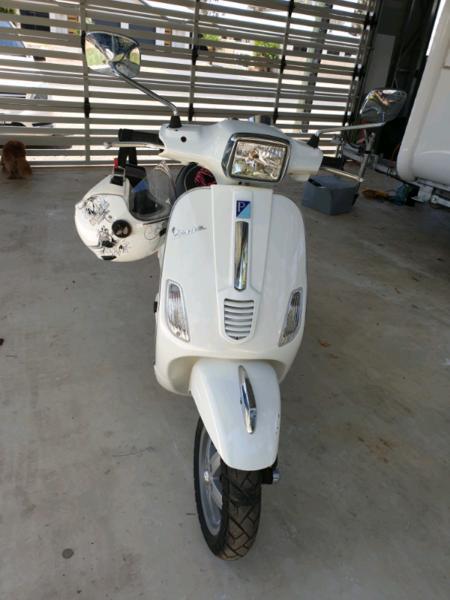 2008 Vespa S50 Scooter