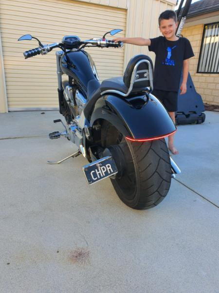 Honda fury chopper