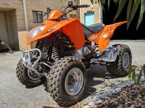 2010 Kymco Maxxer 300 Quad Bike