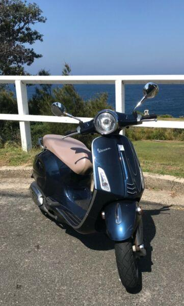 VESPA Primavera - low kms - 2016 - rego - perfect for summer!