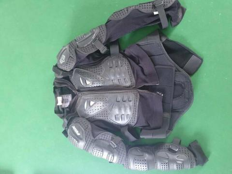 Fox upper body armour off road