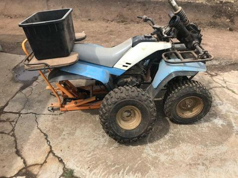 Yamaha 200 quad bike