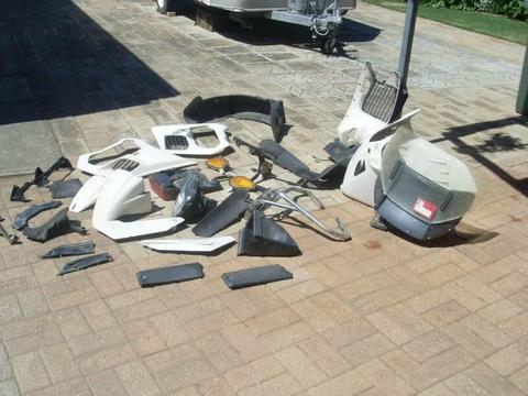 BMW K1100 and other K Models Windscreen $40,other parts $20 and $10