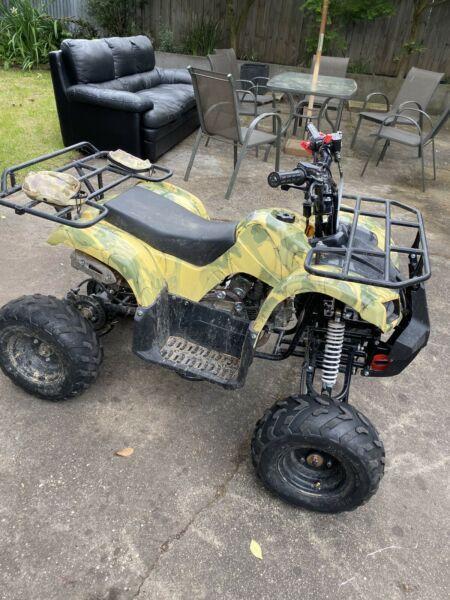 125cc ATV/Quad GMX MUDDER