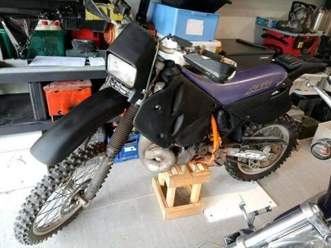 KTM 360 EXC dirt bike