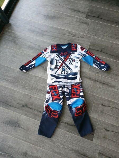 Kids fox Motocross Gear