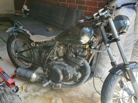 1981yamaha chopper Bobber new engine