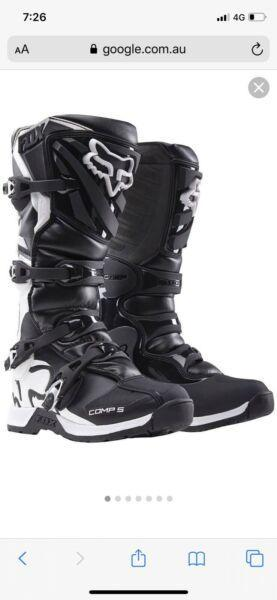 Excellent condition Fox Comp 5 Motorcross Boots
