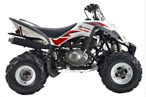 ATOMIK 350 ATV QUAD MUFFLER