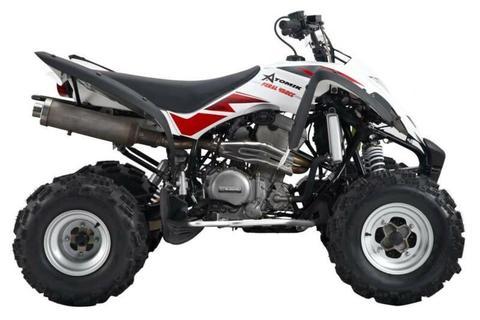 ATOMIK FERAL 450 ATV-2 QUAD EXHAUST SYSTEM