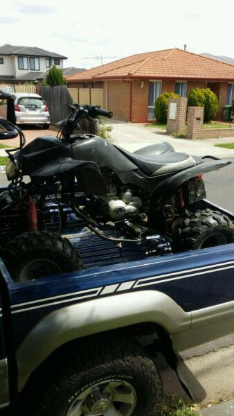 Atv 250 cc 2007 for sale