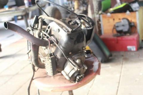 motor bike motor