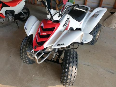 Yamaha Raptor 80cc quad