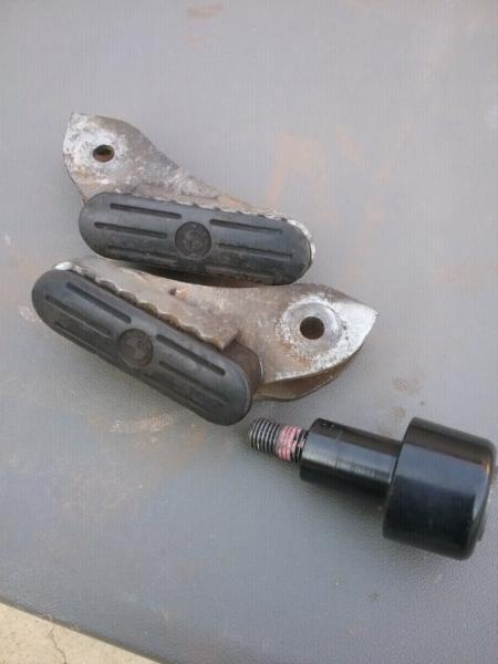 GENUINE BMW R 1200 GS FOOT PEGS