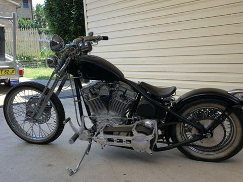 Custom bobber/chopper