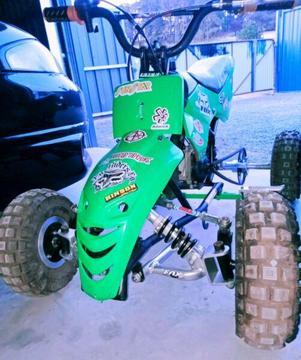 49 cc quad just been rebuilt