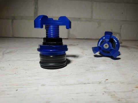 Preload Adjusters to suit Ninja 300 Forks or Yamaha/KTM