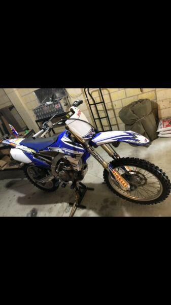 YZ450F swap for boat