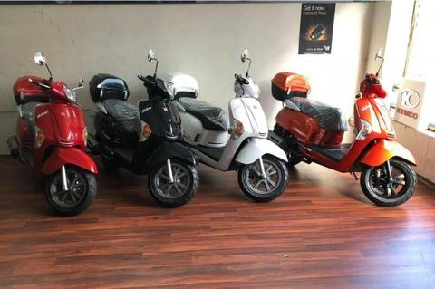 KYMCO LIKE 125 2019 $66pw for 12 MONTHS INTEREST FREE option