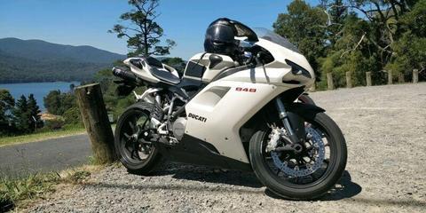 2008 Ducati 848 - White