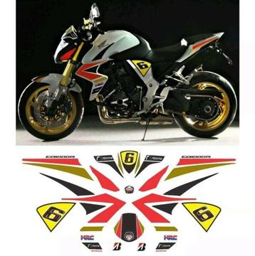 HONDA CB 1000 R 2012 LCR EDITION REPLICA GRAPHIC DECALS KIT