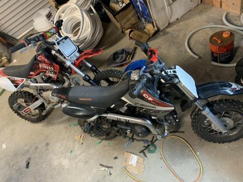 Pit Bikes 70cc thumpstar dirt bike