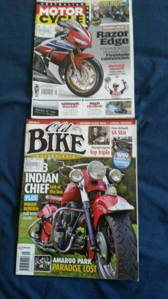 Old Bike Australia, Motorcycle News magazines