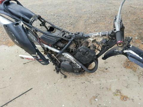 Yamaha tt250 1985 wrecking